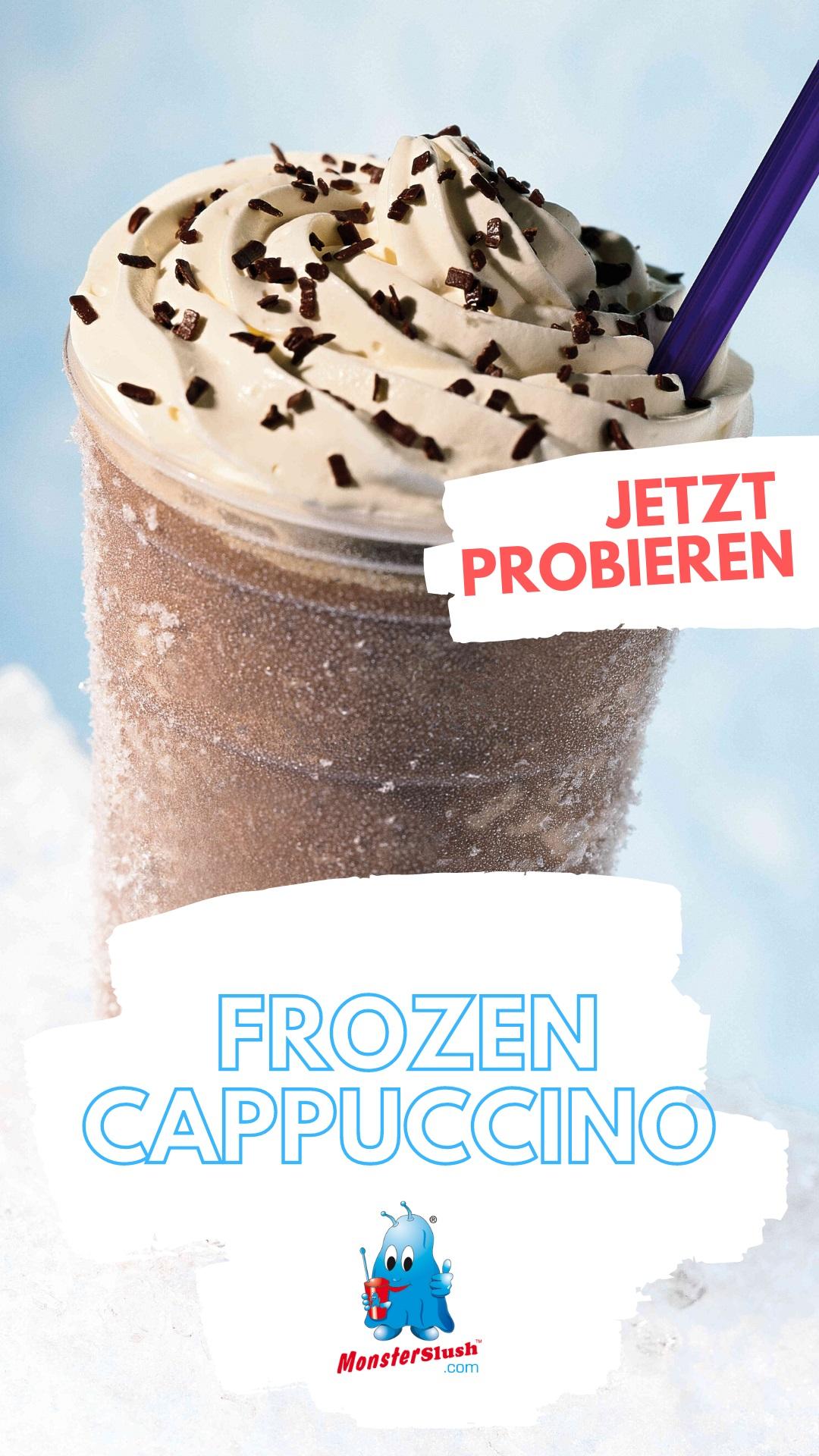 Frozen Cappuccino Slushmaschine